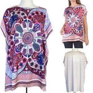 Paparazzi abstract print knit top